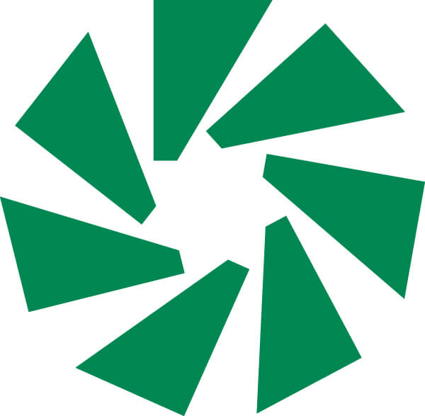 Wheel graphic of the People's Credit Union logo